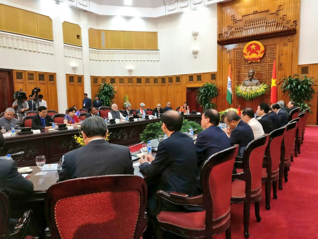 Talks between India and Vietnam Takes Place