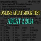[Original] AFCAT 2 2014 question paper practice set