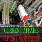 Current Affairs Mock Test September 2017 [Sure Shot Questions]