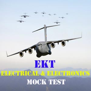 EKT Mock Test for Electronics and Electrical stream