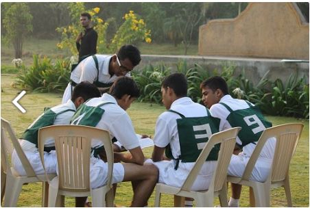 Group Discussion session at Armed Forces Preparatory Academy SSB coaching