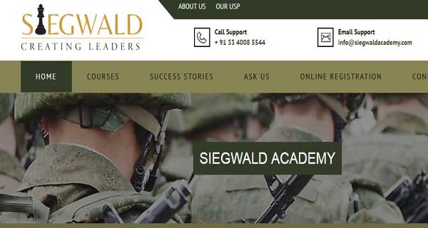Siegwald Academy for SSB NDA CDS and AFCAT Coaching in Kolkata