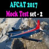 AFCAT 2017 Mock Test Set 2