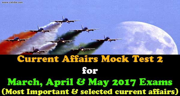 Best mock test for current affairs