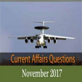 November 2017 Current Affairs Mock Test