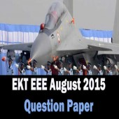 EKT 02 2015 For Electrical and Electronics Stream Question Paper Online Test