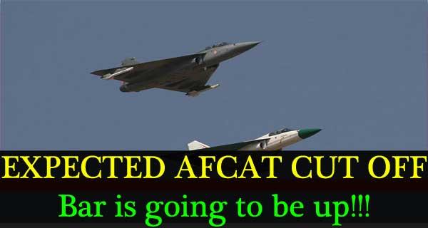 AFCAT 2 2017 Cut off