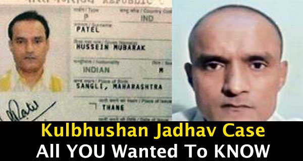 All You Need to Know About the Kulbhushan Jadhav Case So Far