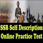 Self Description Test Online Practice Set for civilians