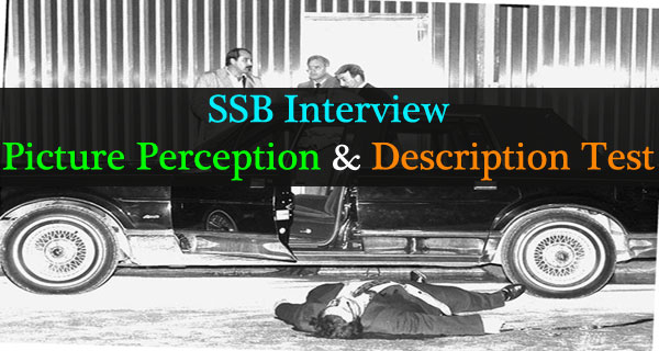 Picture perception and description test of SSB interview