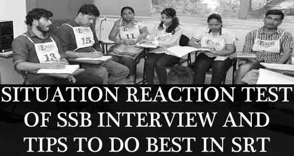 What is Situation Reaction Test in SSB and 7 Tips to Prepare for it